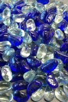 Glass Pebble Bean Mixes 20mm